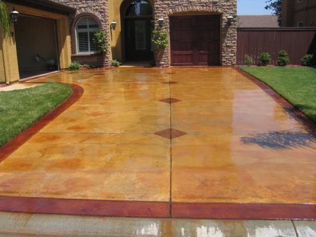 Stamped Concrete Sealing Re Sealing Amp Color Restoration